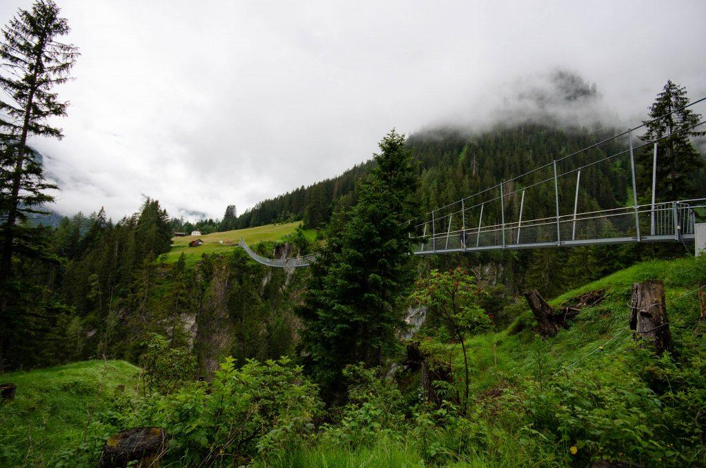 Die Seilhängebrücke Holzgau