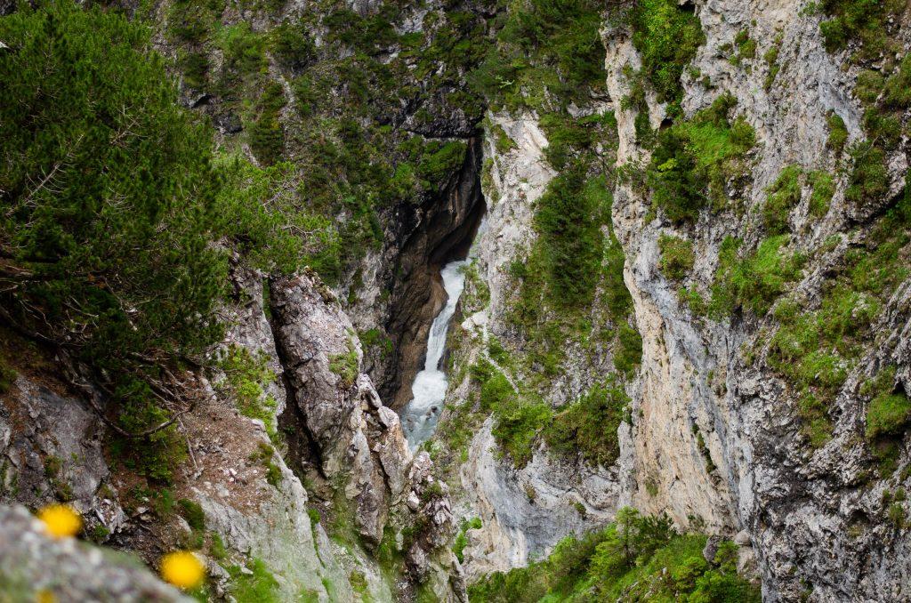 Wasserfall auf dem Weg zur Sulzlalm